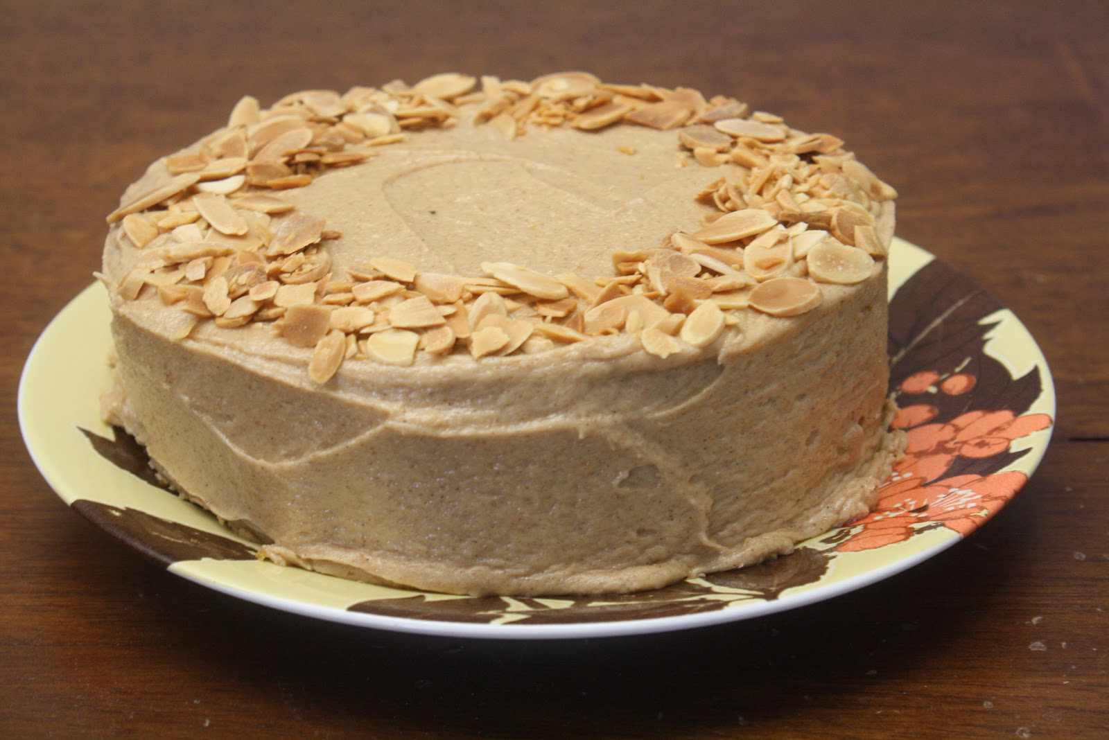 browned butter almond torte for the sake of this cake almond butter ...