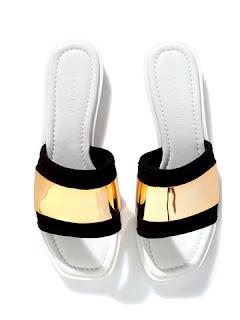 Sandal wanita model casual terbaru gaya masa kini