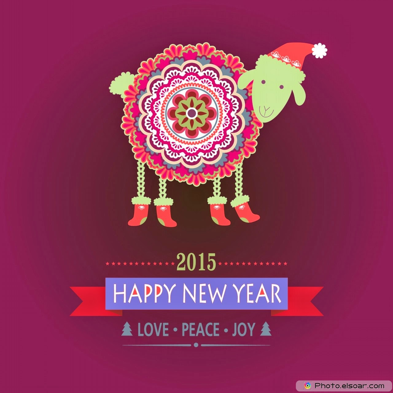 Happy Chinese New Year 2015 Image