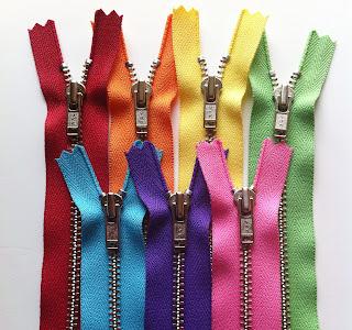 """YKK 12"""" Metal Zippers"""