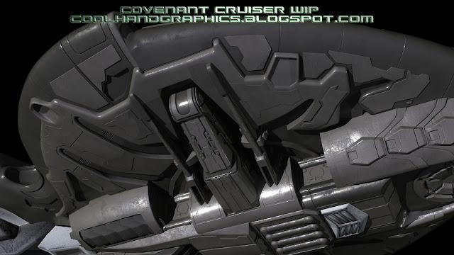 Underside small cruiser