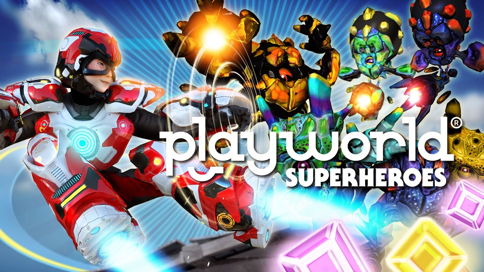 Playworld Superheroes Gameplay IOS / Android