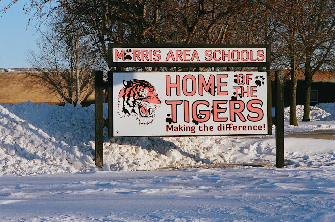 Focus of pride in Morris MN: our school! - morris mn