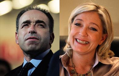 Clash entre Marine Le Pen et Jean-François Copé sur LCI