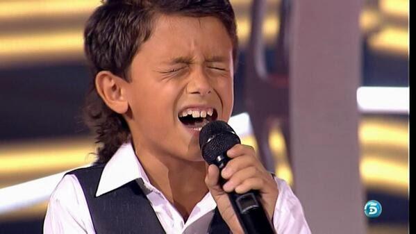 Raul el balilla La Voz Kids