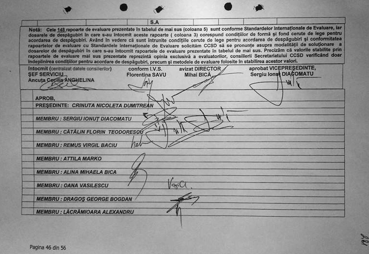 Markó Attila, Alina Bica, Bica-ügy, korrupció, illegális visszaszolgáltatás, DNA, DIICOT,