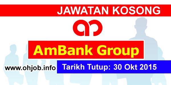 Jawatan Kerja Kosong AmBank Group logo www.ohjob.info oktober 2015