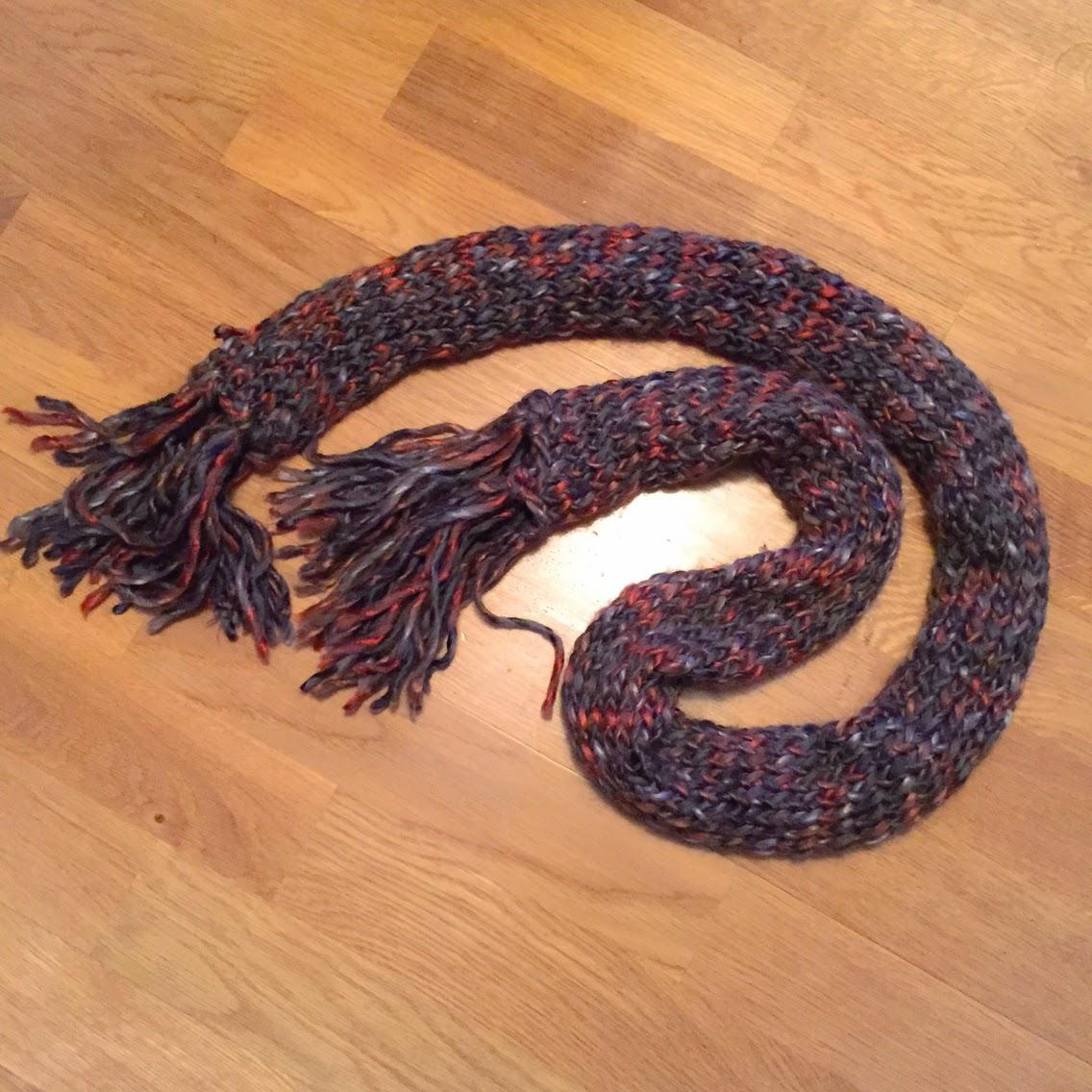lär dig quick knit halsduk inspiration