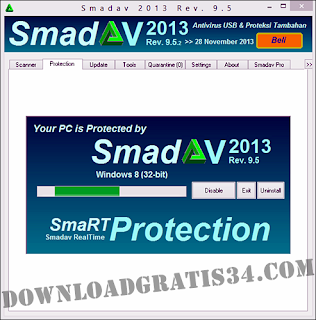 Download antivirus smadav 9.5 terbaru