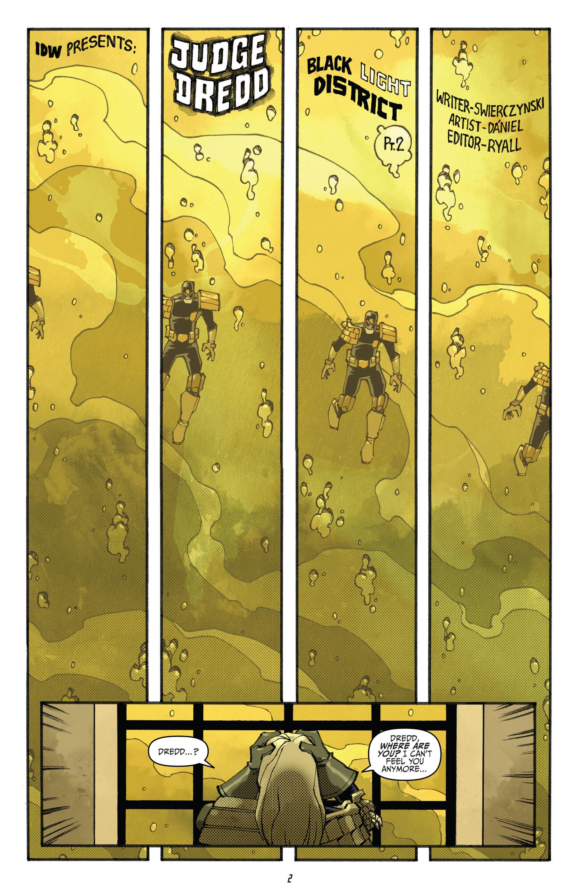Read online Judge Dredd (2012) comic -  Issue #23 - 4