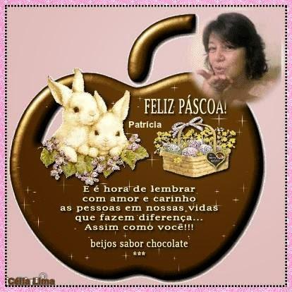 Ganhei este lindo mimo de Páscoa da amiga Célia Lima.