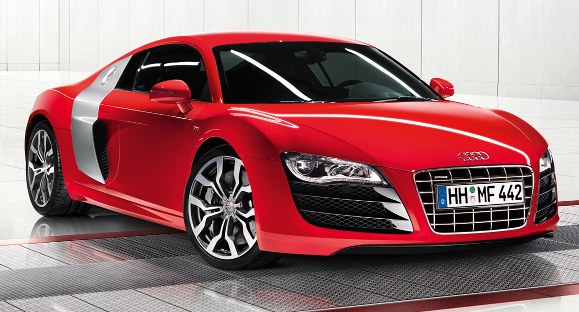 Audi R8 Black And Red