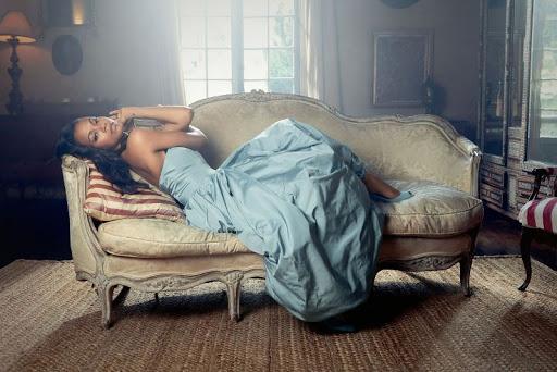 Zoe Saldana Latina Magazine photo