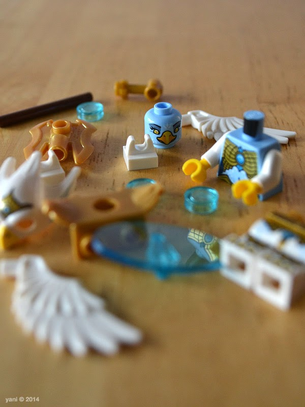 lego chima legend beast eagle - minifig parts