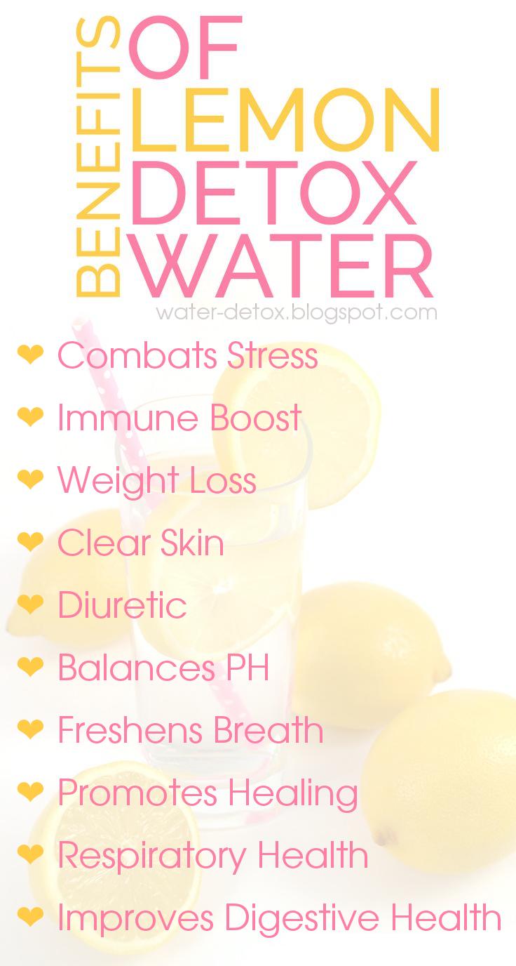 10 Benefits Of Lemon Detox Water