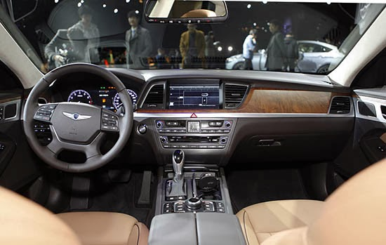 Perfect 2015 Hyundai Genesis Interior