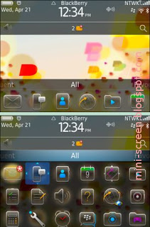 BlackBerry Exclusive Spring Blossom Free Premium Theme