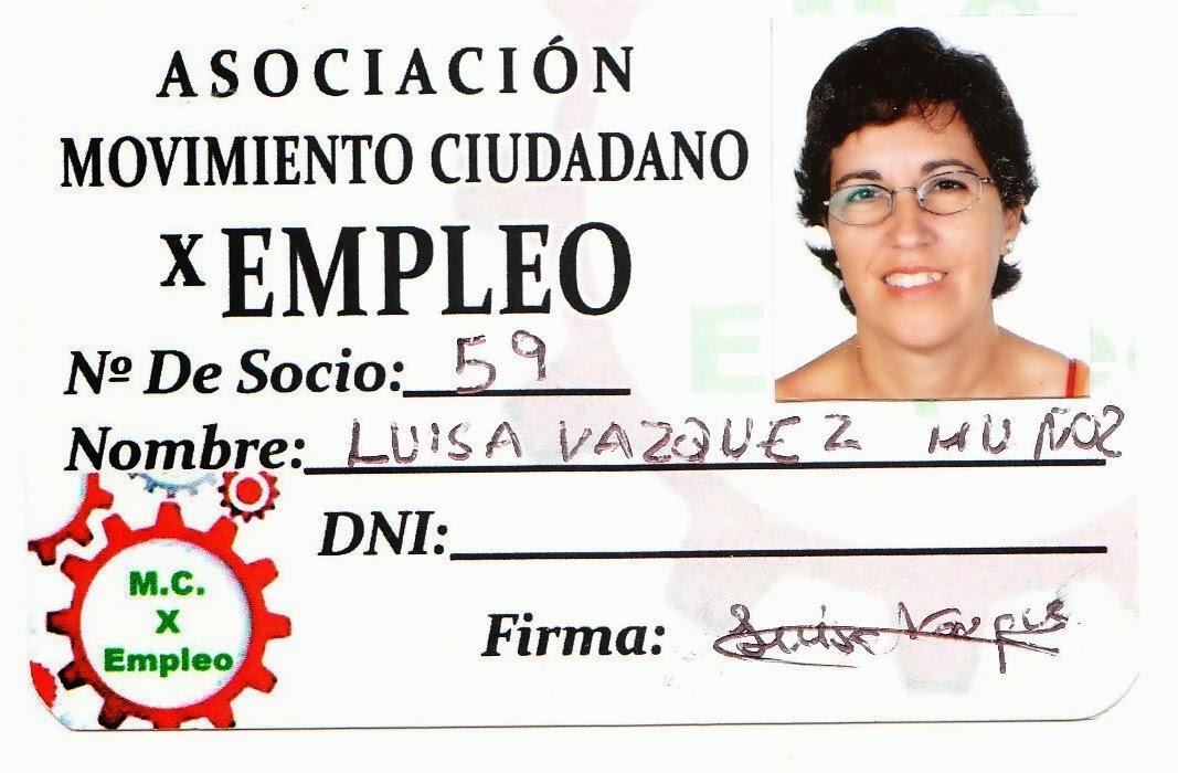 LUISA VAZQUEZ MUÑOZ