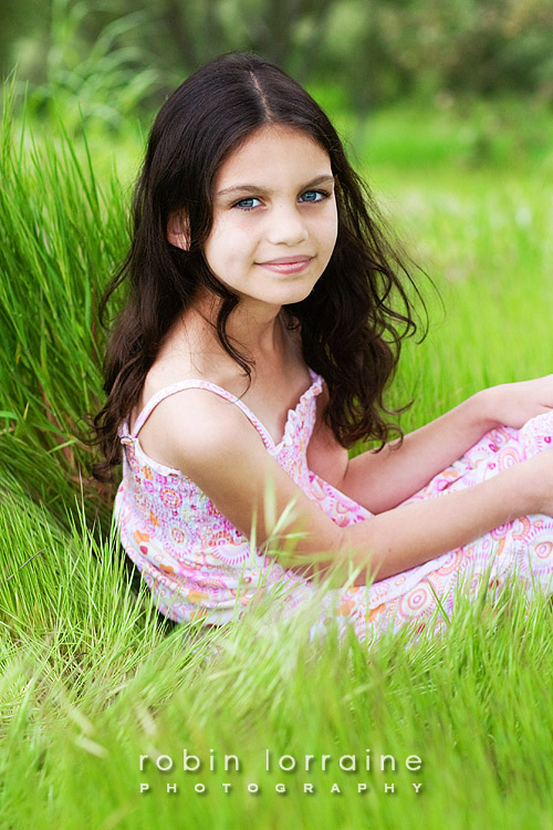Child modeling requires kids that are comfortable with others and kids