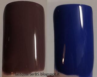 Pupa Lasting Color Gel: da sinistra a destra il numero 026 e il numero 054.
