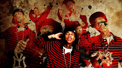 rapper art illustrations - tyga