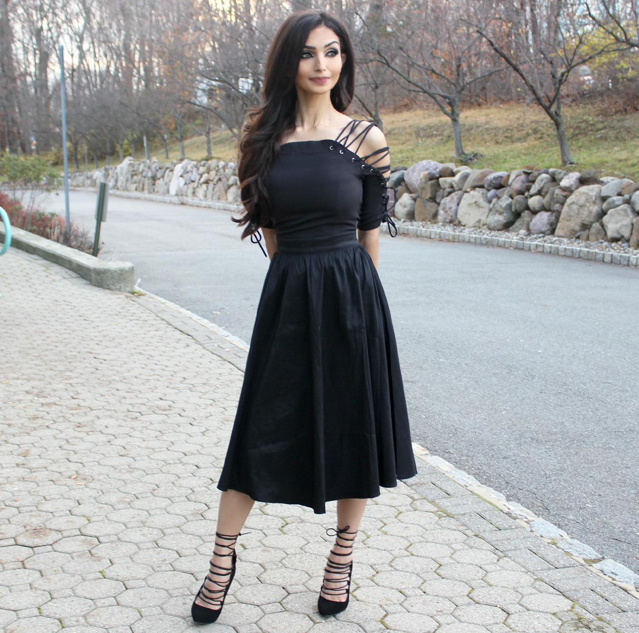 Bellqees Gothic Romance Fashion Lookbook Style 1
