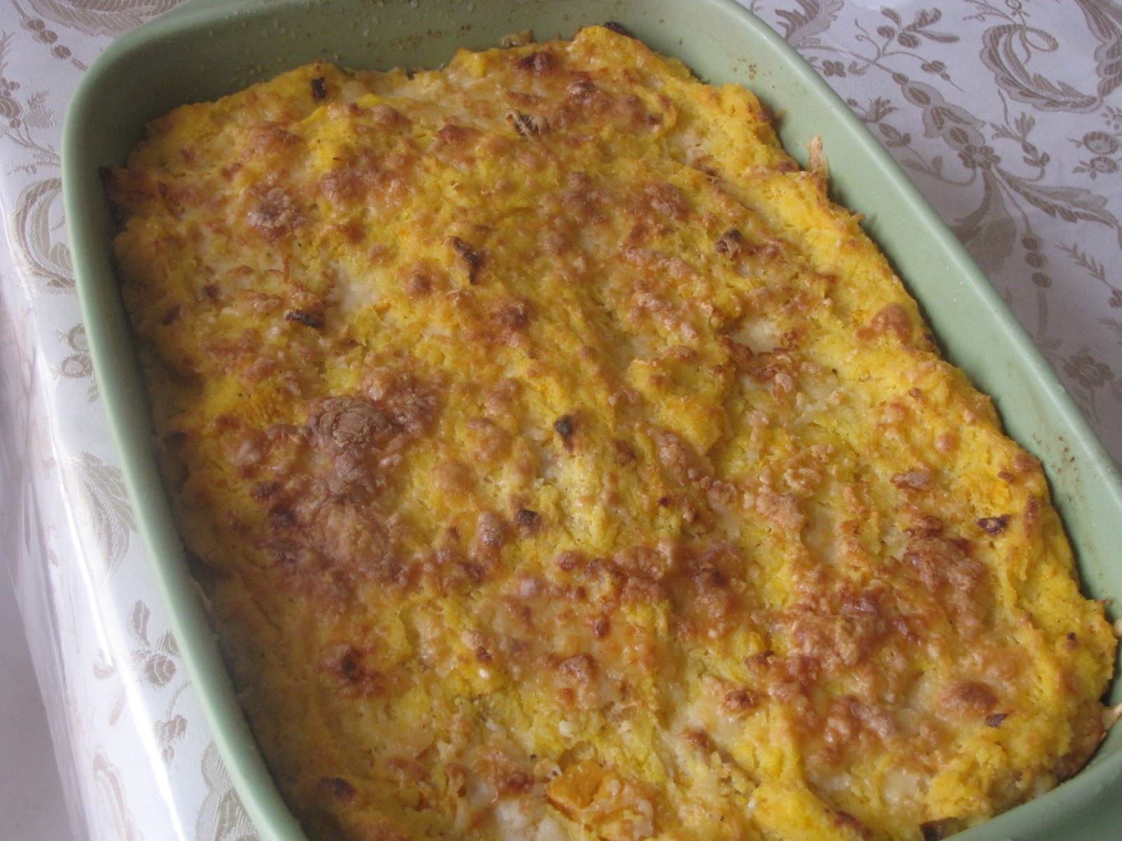 polenta squash and cheese loaf vegetarian gluten squash and cheese ...