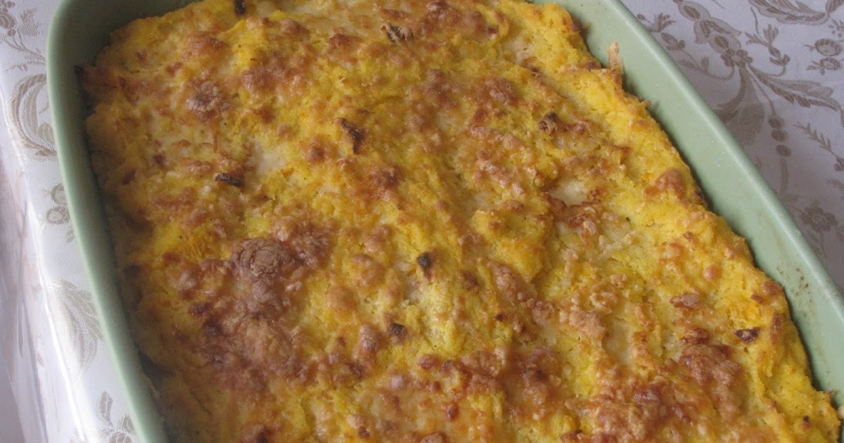 The Gush Gourmet: Baked Butternut Squash and Cheese Polenta