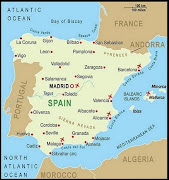 Spain Map. 20 Largest Cities in Spain (spain map)