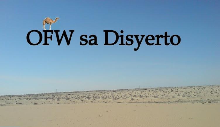 OFW sa Disyerto