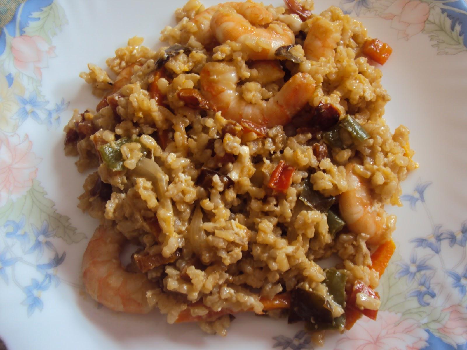 Lixcocina salteado de arroz con verduras langostinos y - Salteado de arroz ...