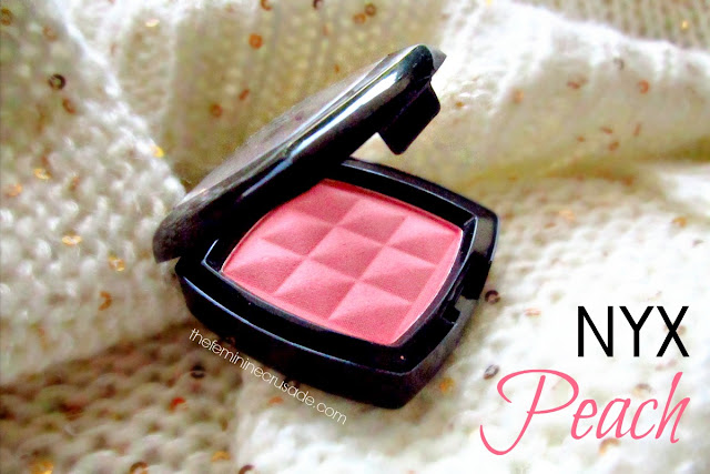 NYX Powder Blush in Peach