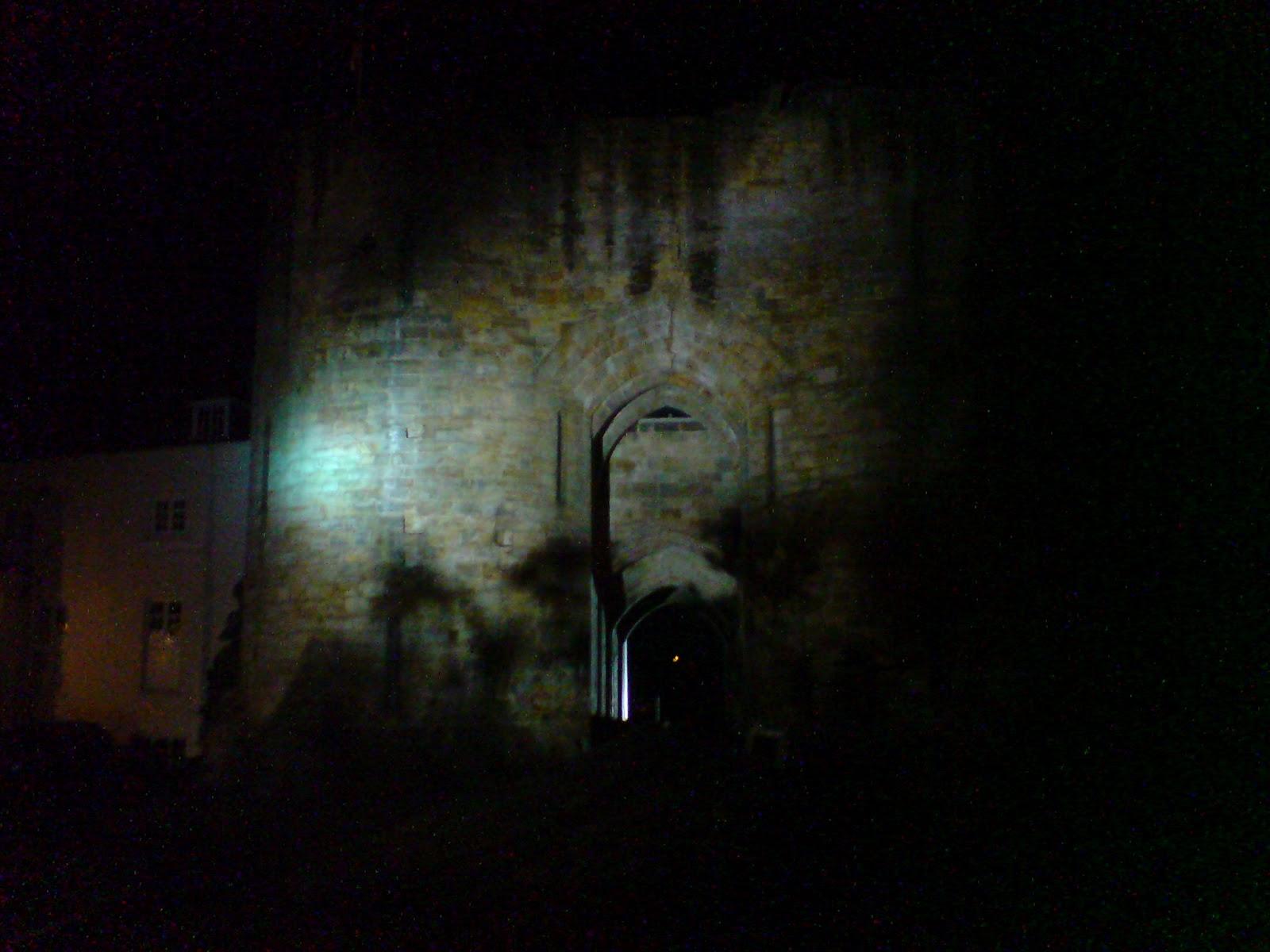 Mirror Night Castle wallpaper
