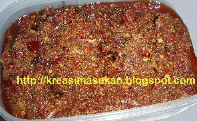 Sambal Roa Manado Spesial