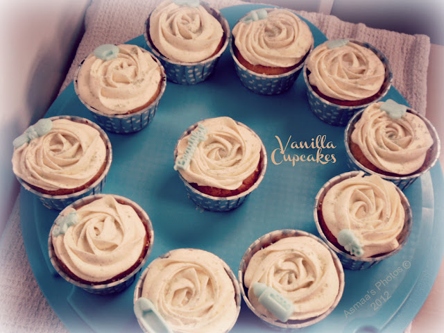 very vanilla cupcakes recipe | Halal Home Cooking