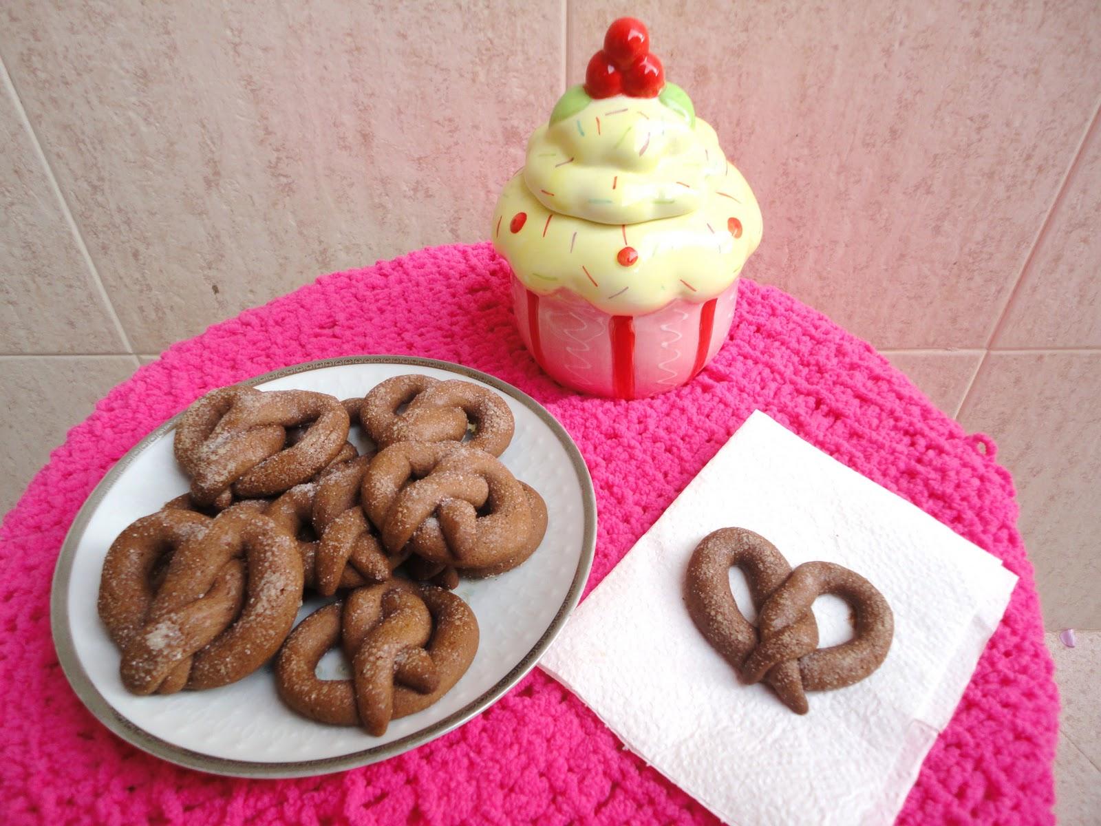 Desastre en la Cocina: Pretzels de chocolate de Martha Stewart