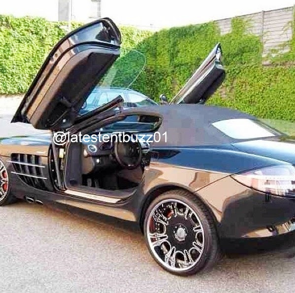 Latest Entertainment Buzz Obafemi Martins Shows Of His Car And House