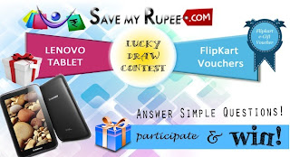 Contest !! Answer Simple Questions & Win LENOVO TABLET and FLIPKART