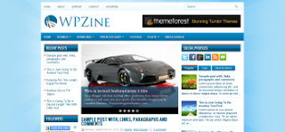 Share WPZine Blogger Template