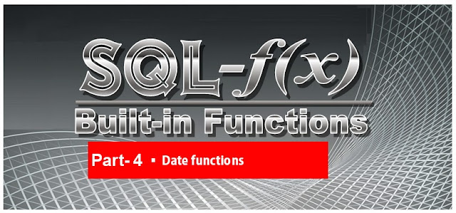 Microsoft SQL Server Training Online Learning Classes Built-in functions Date