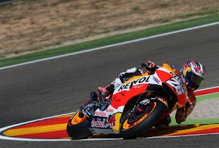 Pedrosa Tercepat FP4 MotoGP Aragon 2015, Rossi Keenam