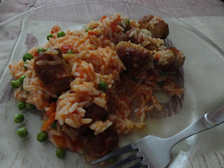 Spicy Sausage Rice
