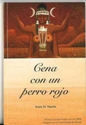 """Cena con un perro rojo"" (novela)"