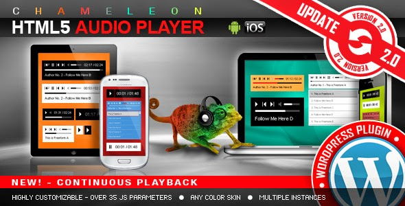 HTML5 Audio Player - WordPress Plugin