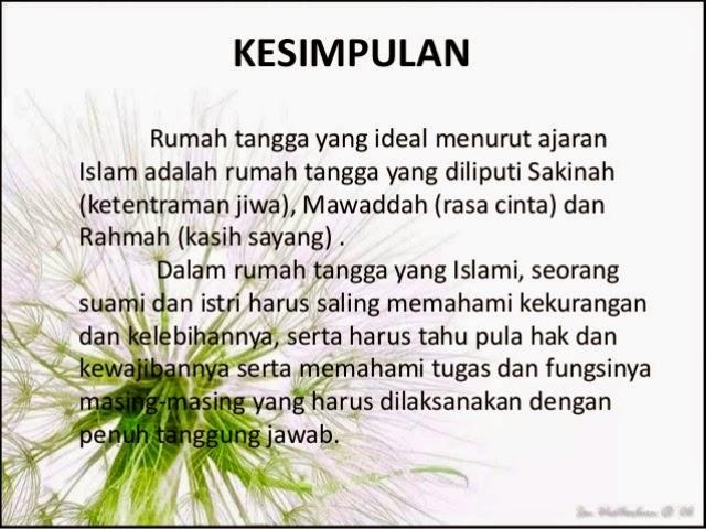 Kata Islami Rumah Tangga 101