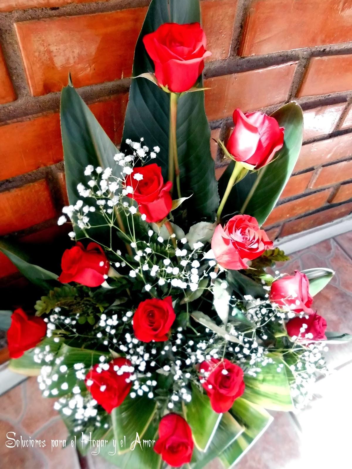 Rosas Rojas Arreglo floral
