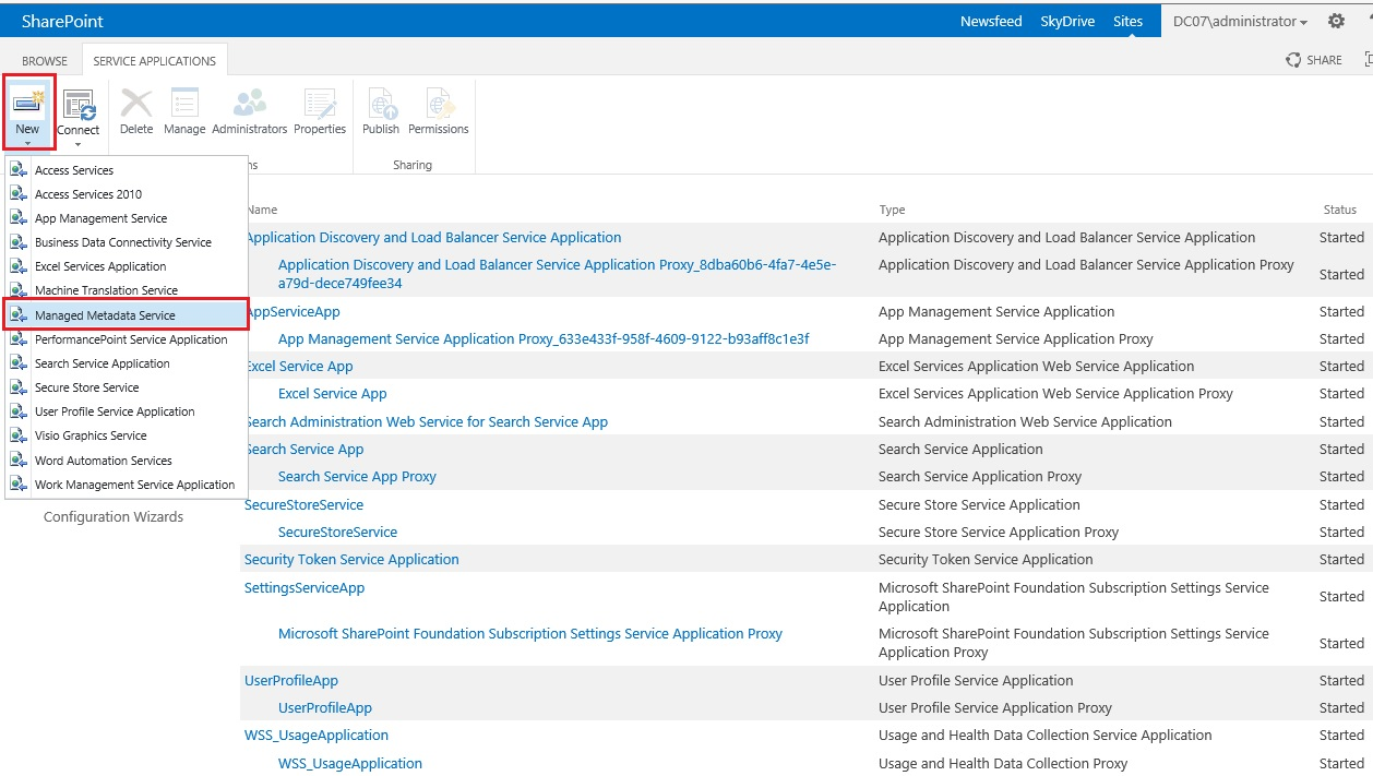 Managed Properties In Sharepoint