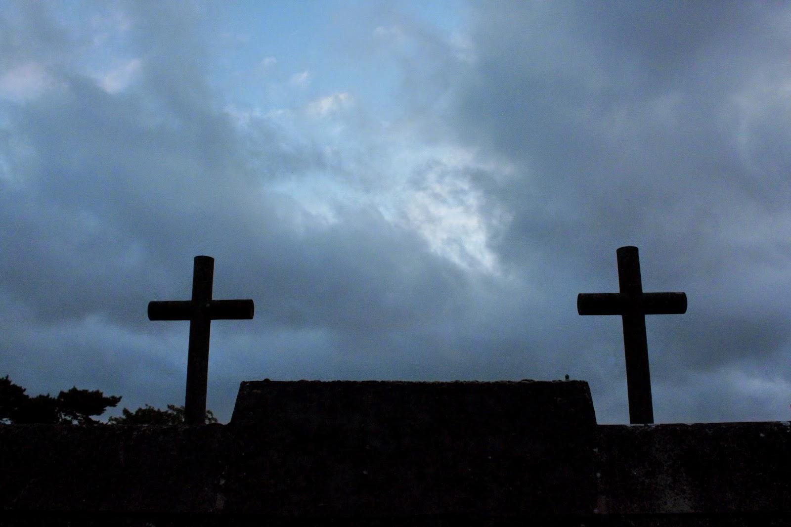 Croix d'un cimetière