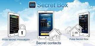 Hide text message app