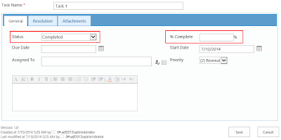 SharePoint conditional fields